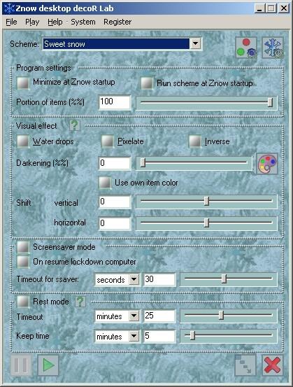 Znow desktop decoR Lab